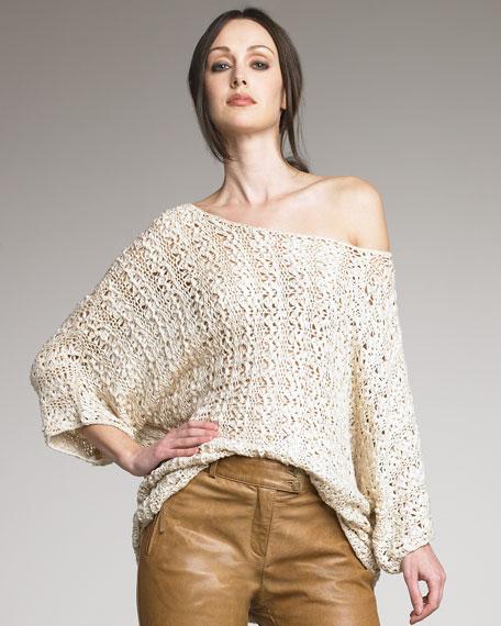 Savanna Macrame Sweater
