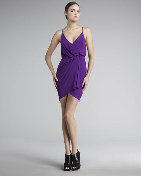 Kaitlin Draped Jersey Dress