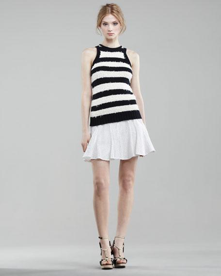 Eyelet Tulip Skirt