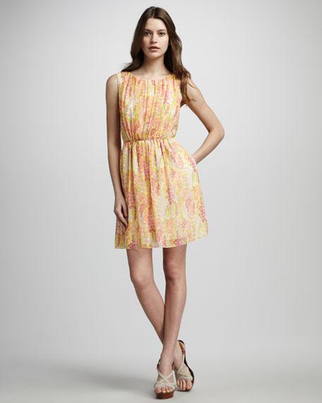 Angelina Printed Dress