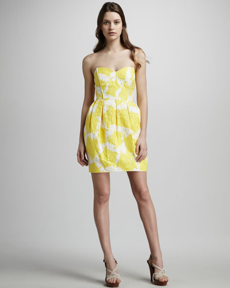 Jane Pentagon Print Dress