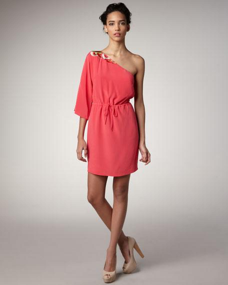 Topaz One-Shoulder Dress