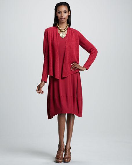 Jersey Lantern Dress, Women's
