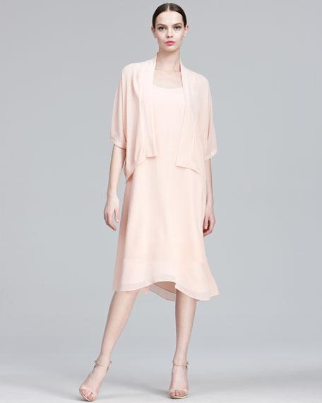 Basic Silk Dress, Women's