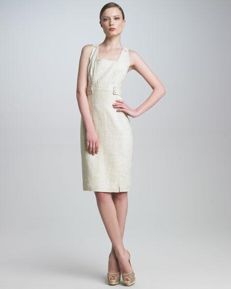 Hopsack Linen Dress