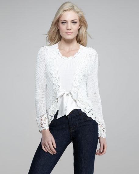 Crochet Cardigan, Women's