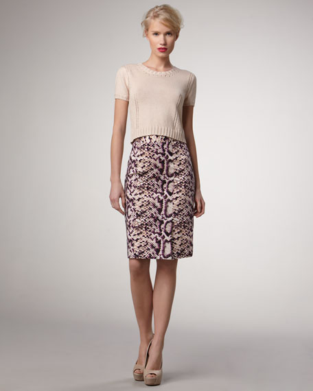 Squeeze Me Pencil Skirt
