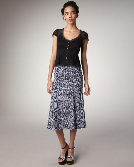 Slinky Snake-Charmer Skirt
