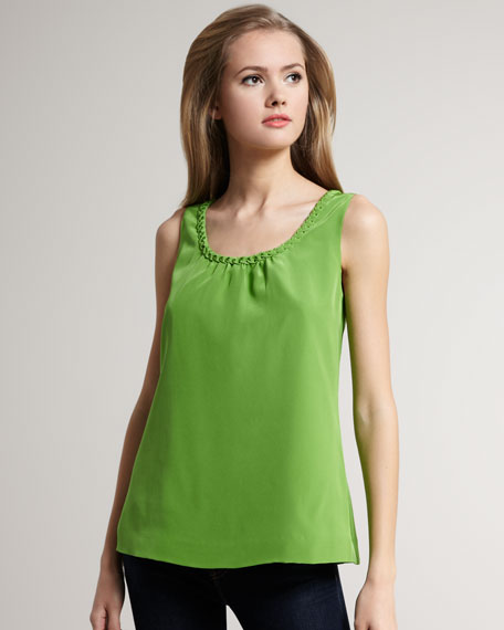 betty charmeuse top