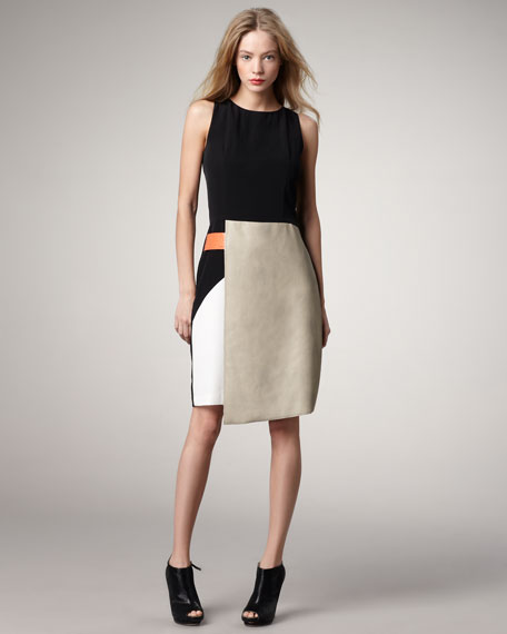 Goldie Colorblock Dress