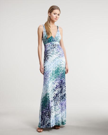 Twist-Strap Maxi Dress