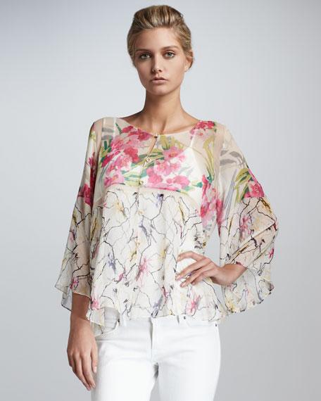 Carmen Sheer Silk Top