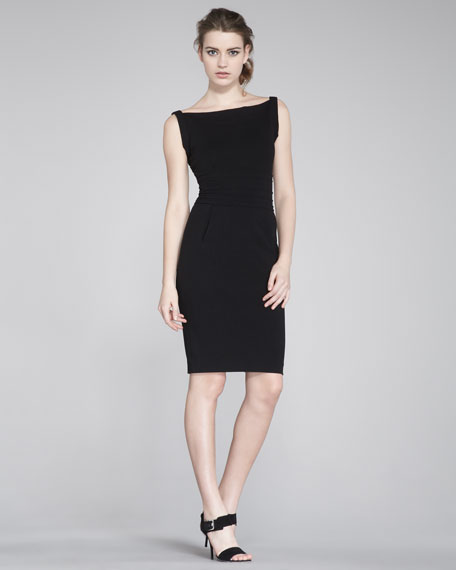 Kimmie Sleeveless Fitted Dress