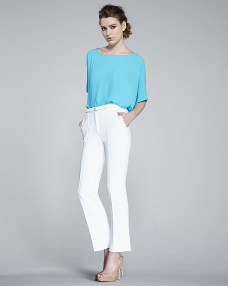 Dezzie Fitted Cropped Pants