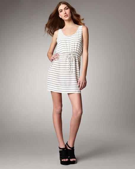 Chariot Striped Minidress