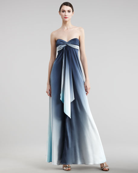 Flowy Ombre Gown