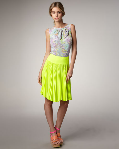 Sweet Sixteen Pleated Skirt