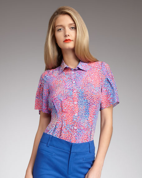 Teacher's Pet Silk Blouse