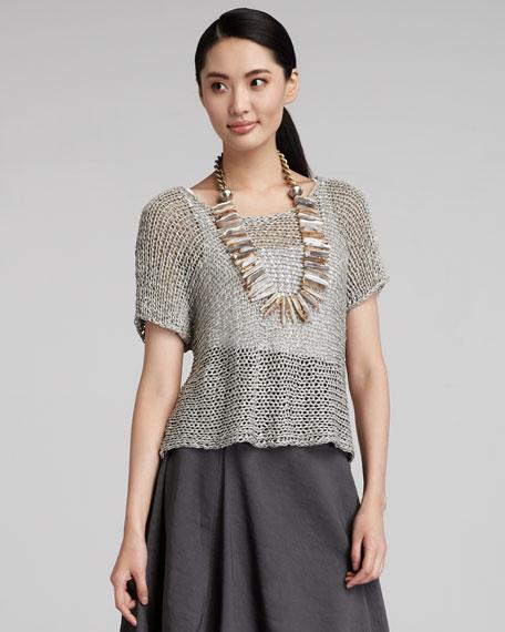 Sheer Knit Sweater