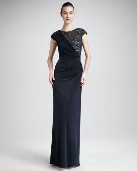 Mirror Bodice Gown