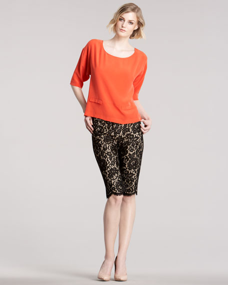 Lace Knee Shorts