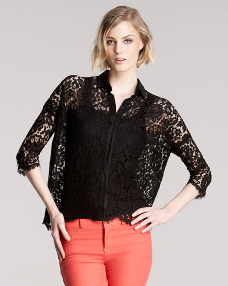 All Day Lace Blouse