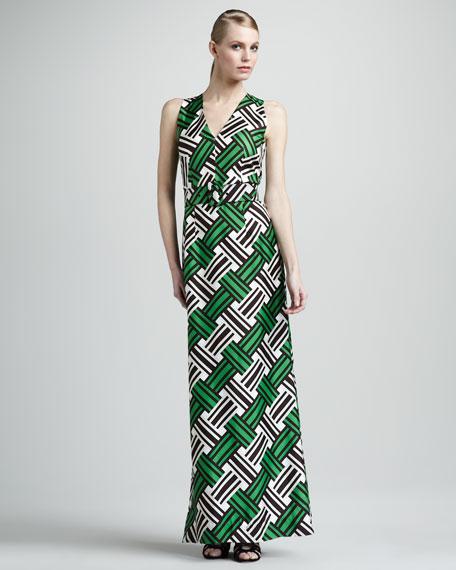Caroline Belted Maxi Dress
