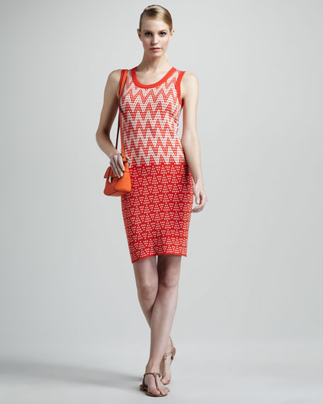 Naomi Printed Knit Dress