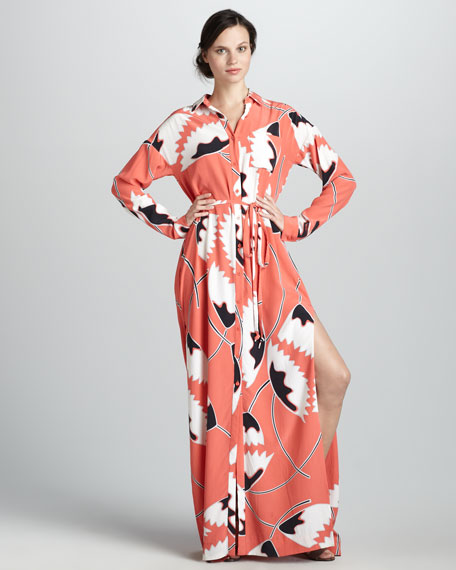 Laramie Belted Maxi Dress