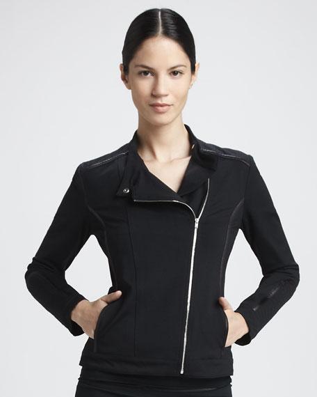 Source Asymmetric-Zip Jacket