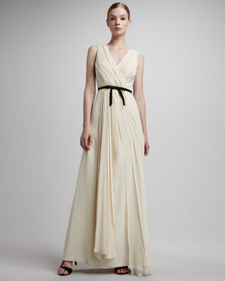 Felicity Wrap Gown