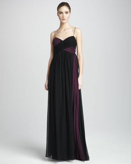 Camille Colorblock Gown