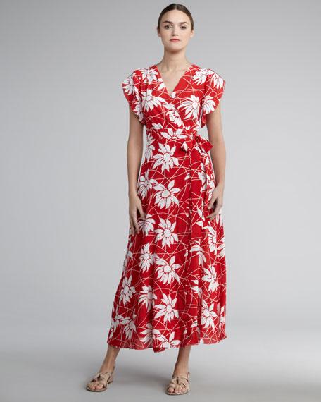 Pembroke Wrap Maxi Dress