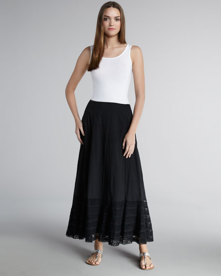 Woolsworth Voile Maxi Skirt