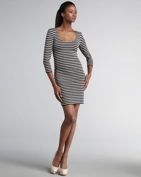 Fateful Trip Striped Dress