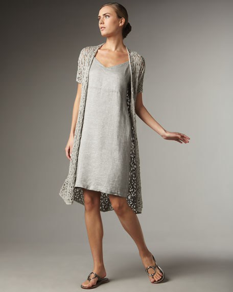 Luster Long Lacey Cardigan