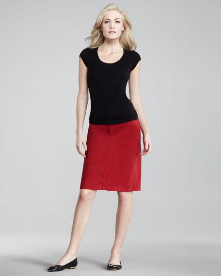 Emma Twill Skirt, Women's