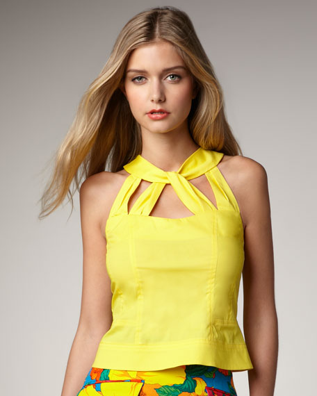 Corazon Knot Top