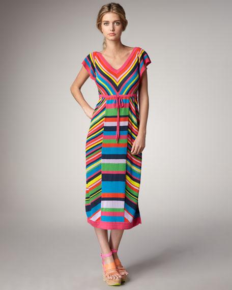 Fiesta Striped Knit Dress