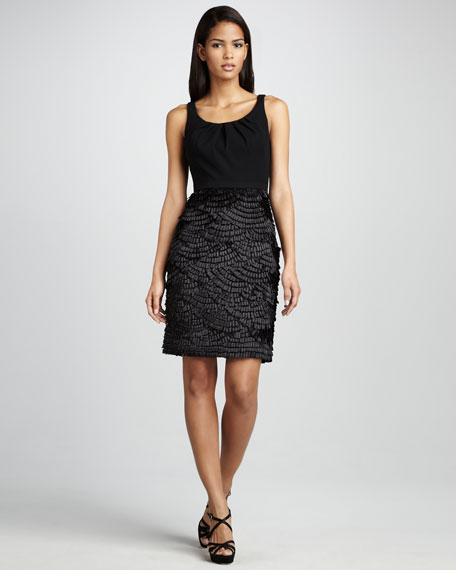 Combo Cocktail Dress