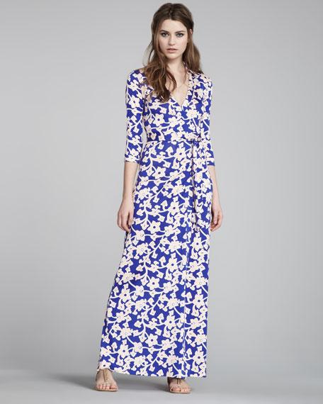 Diane von furstenberg abigail maxi dress