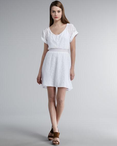 Annie Eyelet Dress