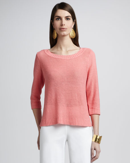 Knit Boxy Sweater