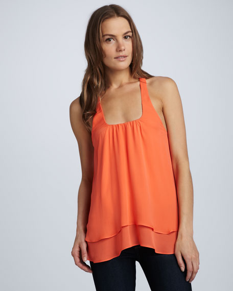 Double-Layer Racerback Tank