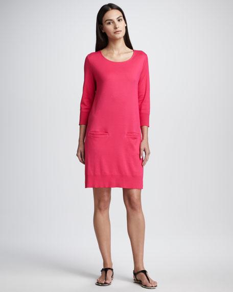 Easy Knit Dress, Petite