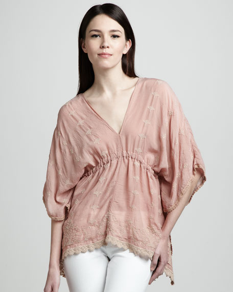 Embroidered Tunic, Women's