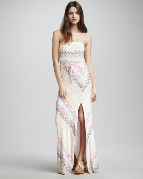 Santana Strapless Maxi Dress