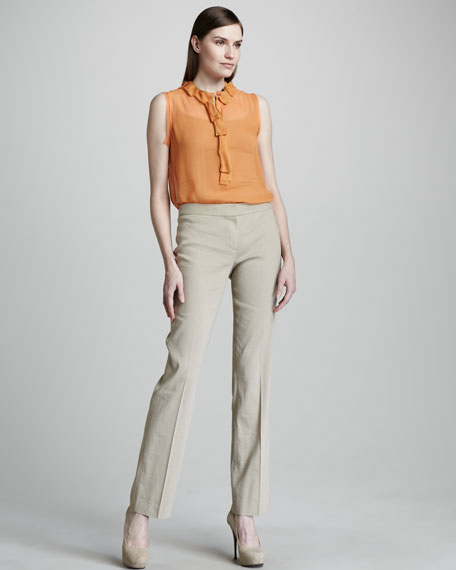Theora Straight-Leg Pants