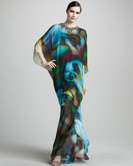 Bead-Neck Caftan