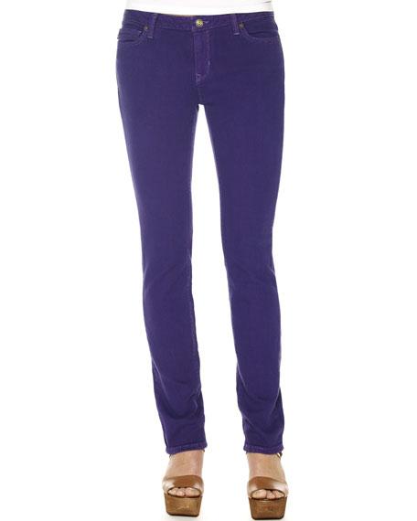 Jewel-Tone Skinny Jeans
